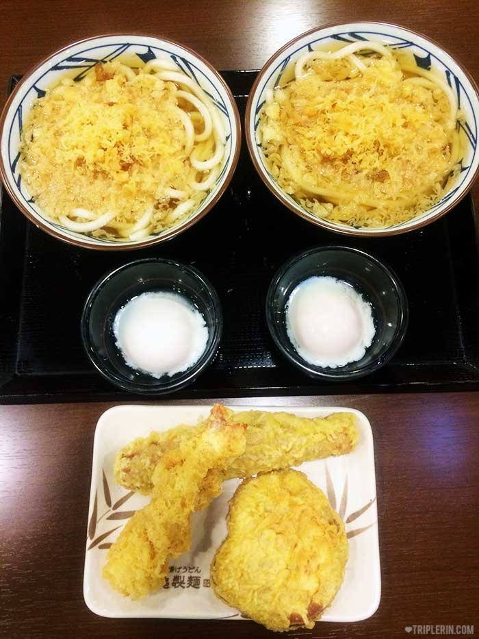 A full meal for 2, for just 970 yen! (~SGD 12)